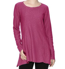 Cut Loose Long Sleeve Angled Pocket Top