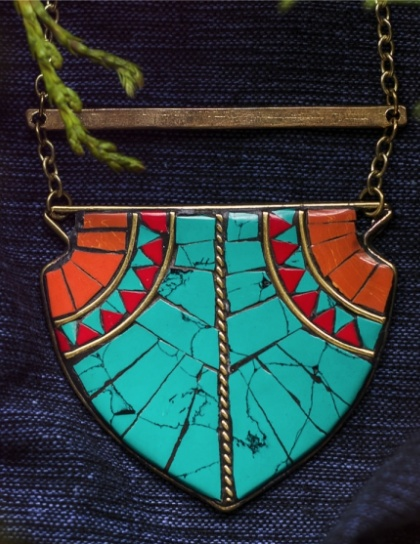 Mata Traders Tahoe Tribal Necklace