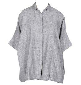 Cut Loose Kimono Shirt -Crosshatch
