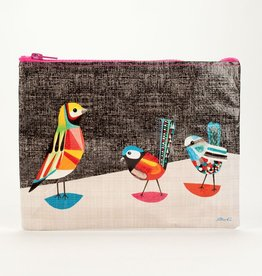 Blue Q Pretty Bird Zipper Pouch