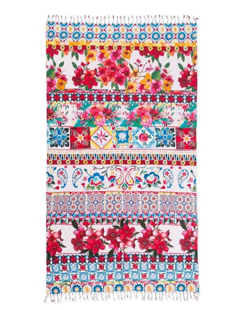 Desigual Kikoy Bubble Gum Beach Blanket