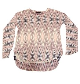 Nally & Millie Diamond Printed Top