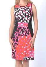 Papillon Blanc Gossip Pink/Orange S/L Dress