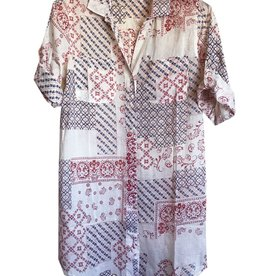 Dolma Mixed Paisley Cotton Shirt