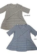 Cut Loose S/S Stripe Swing Top