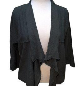 Cut Loose Open Cardi- Linen, Cotton