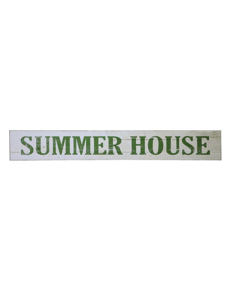 "Creative Co-op 71""L x 10""H MDF Wall Decor ""Summer House"""