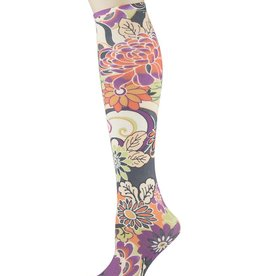 Sox Trot Asian Montage Knee Highs