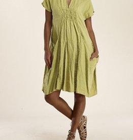 Luna Luz Big Pockets Linen Dress