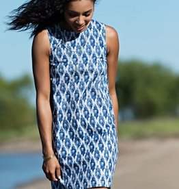 Mata Traders Ikat Polo Dress