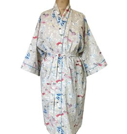 Handprint Killi Grey Kimono