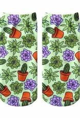 Living Royal Green Thumb Ankle Socks