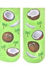 Living Royal Googly Coconuts Ankle Socks