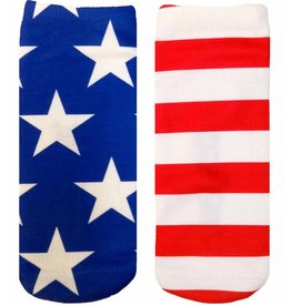 Living Royal Stars & Stripes Ankle Socks