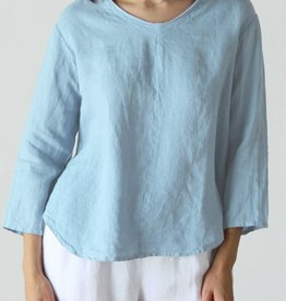 Cut Loose Raw Edge Pullover