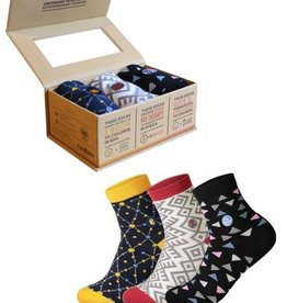 Conscious Step Women's Sock Collection, Books, HIV, Hunger