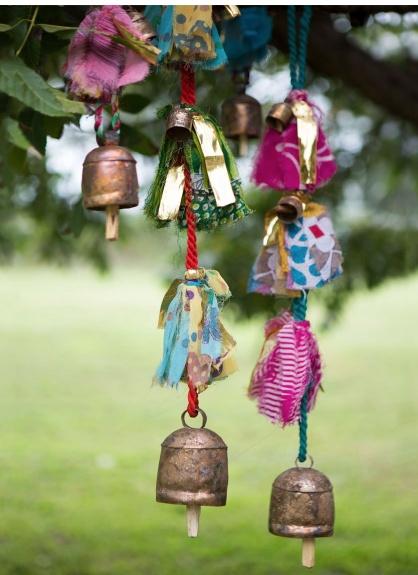 Matr Boomie Sari & Song Long Hanging Bells