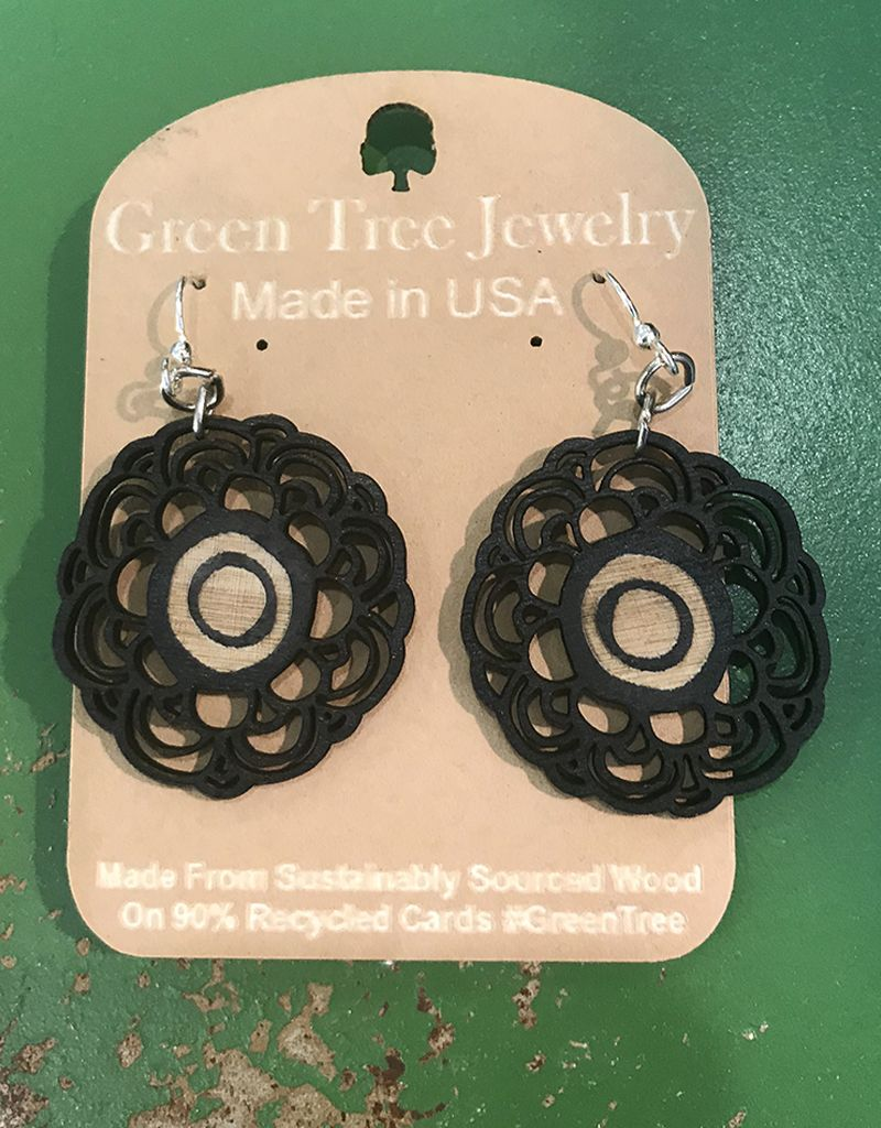 Green Tree Jewelry Signature Flower Earrings