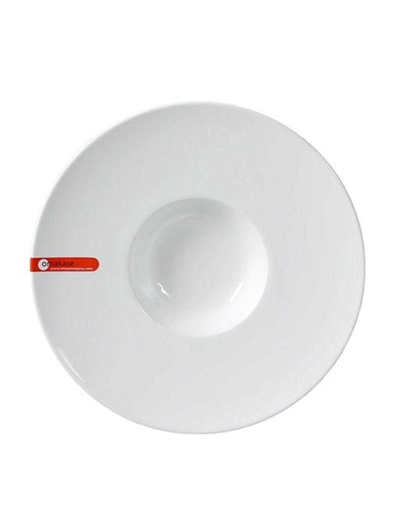 """Miya Company Soup Plate 9.25"""" White"""