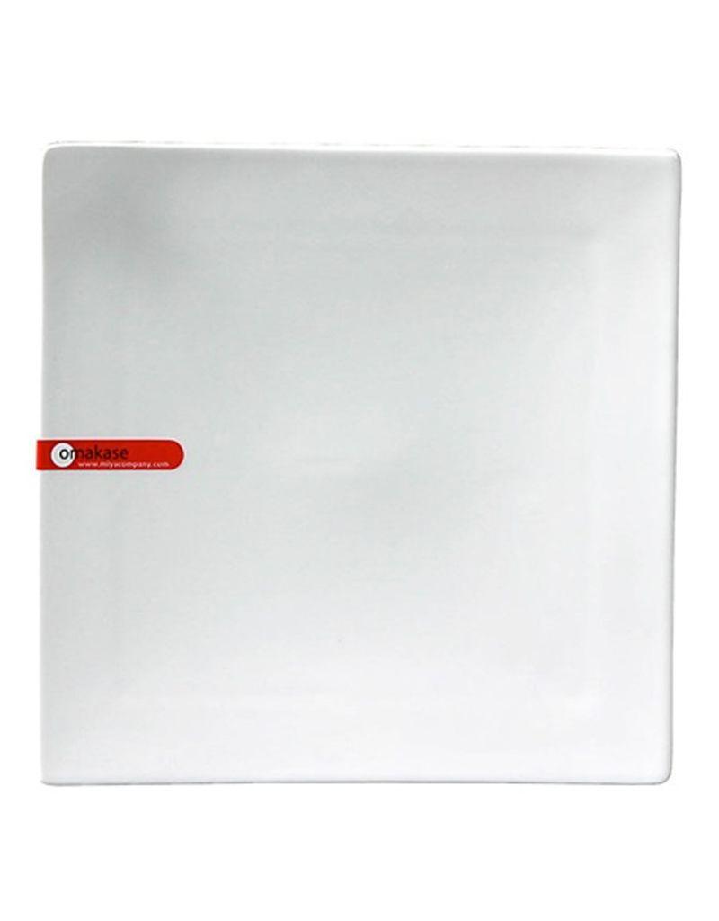 "Miya Company Omakase Corner Tipped 8.25"" Square Plate"