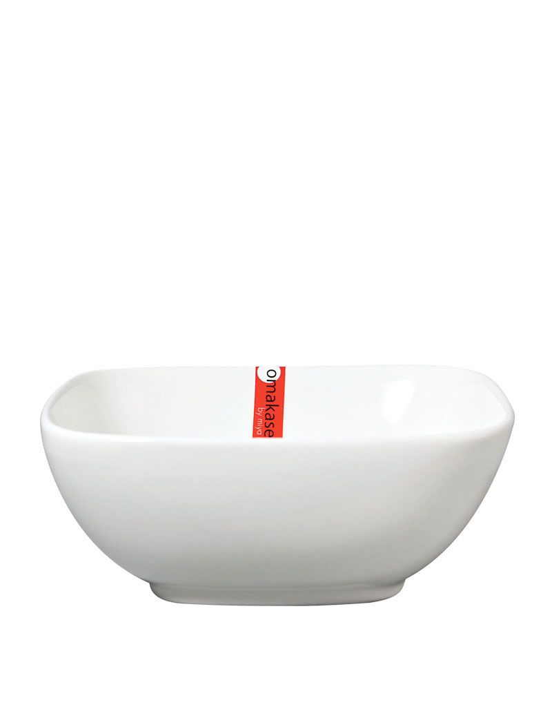 "Miya Company Bowl Sq. 5.5"" White"