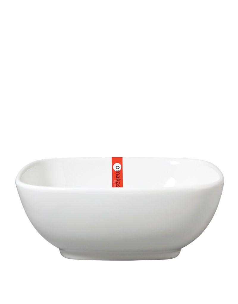 "Miya Company Sq. Bowl 6.5"" White"