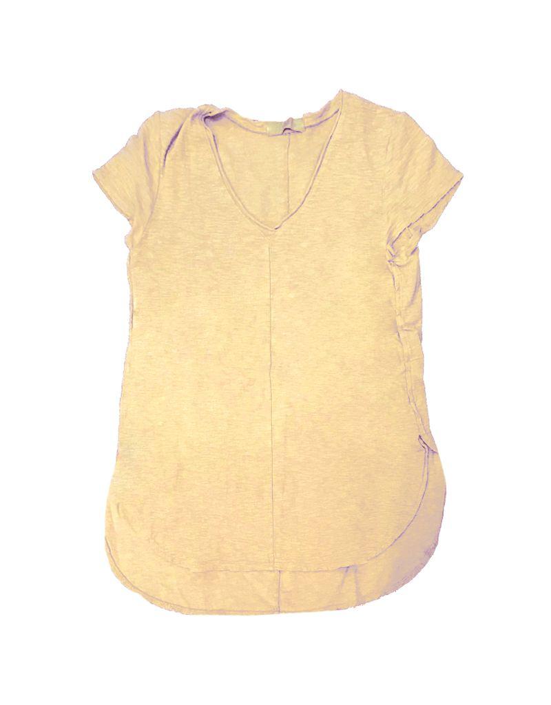 Cut Loose Short Sleeve V-Neck Top