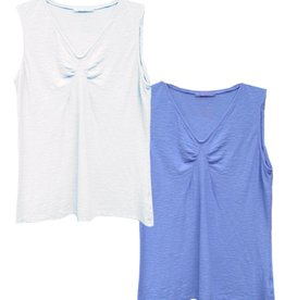 Cut Loose S/S Tuck Front Tank Tee