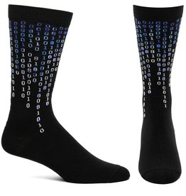 Ozone Designs Men's Digital Age Socks