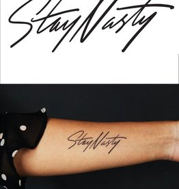 Tattly Stay Nasty Tattoo