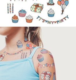 Tattly Party Tattoo Set