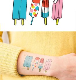 Tattly Popsicles Tattoos