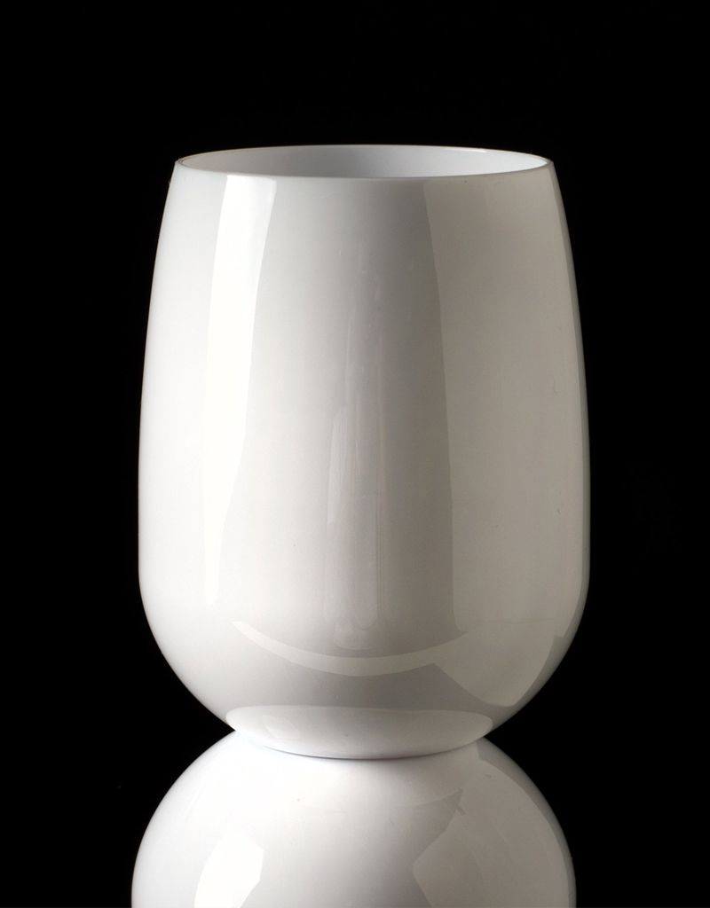 Hester & Cook Stemless wine glasses/White