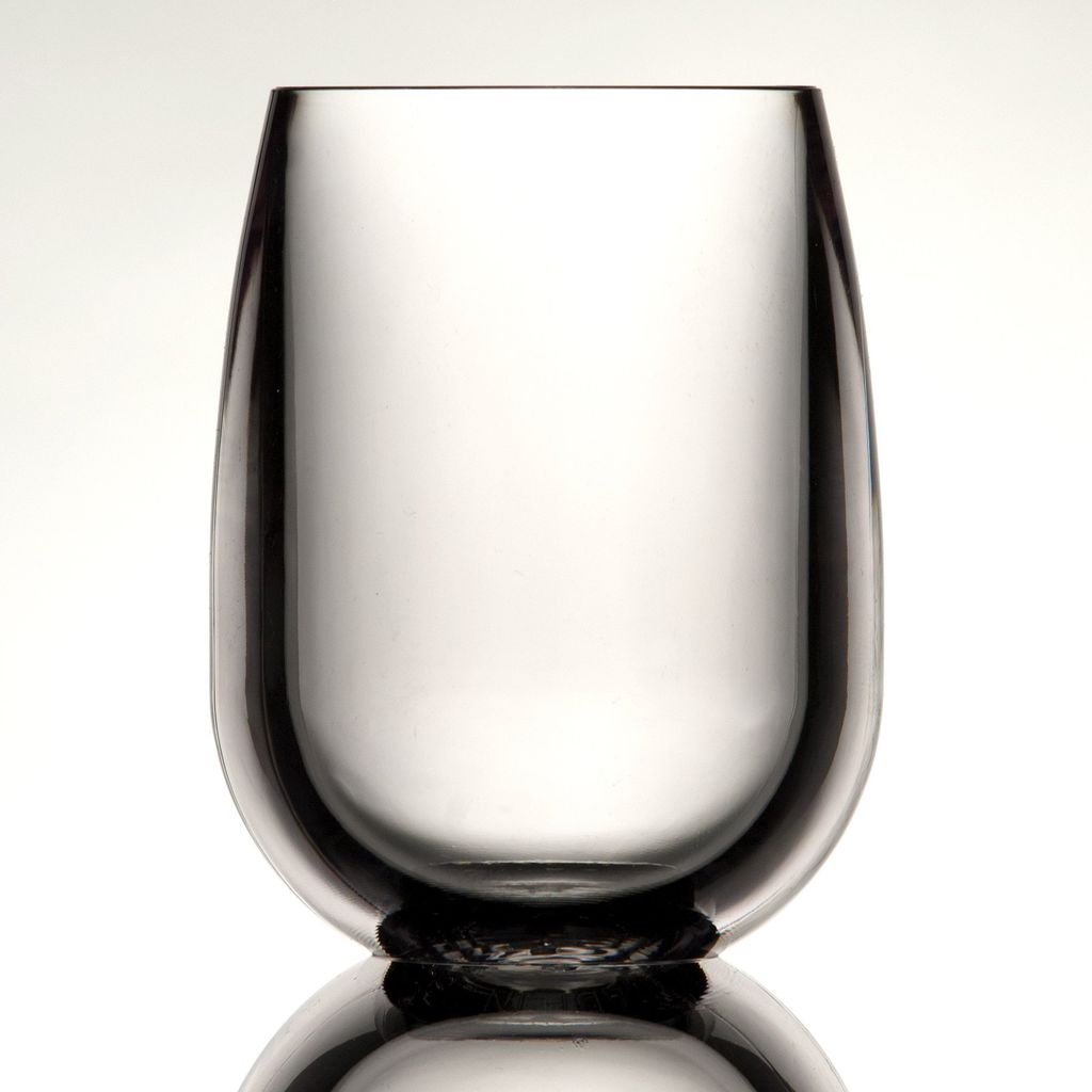 Hester & Cook Stemless Wine symGlass, Clear