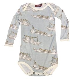Milkbarn Bamboo Long-Sleeve One Piece