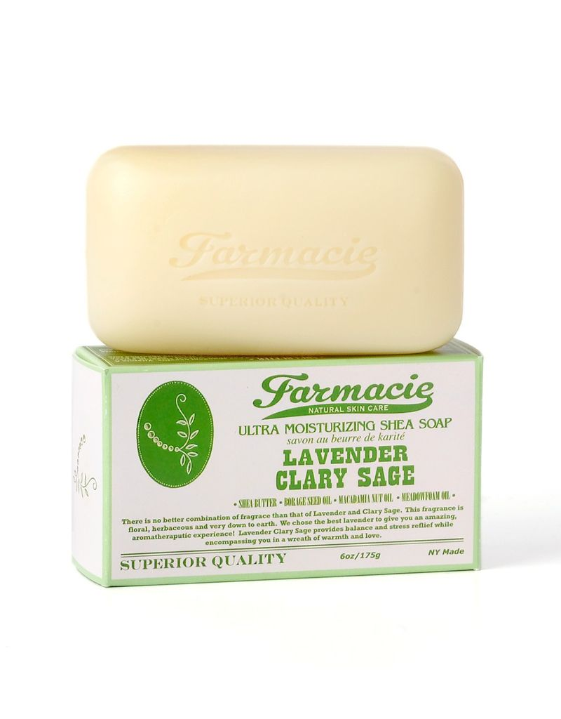 Soap &amp; Paper Factory Lavender Clary Sage bar soap<br />Farmacie