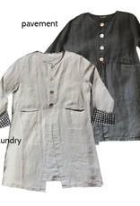 Cut Loose Natural Linen Longer Jacket
