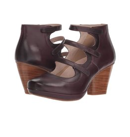 Dansko Marlene Wine Burnished Calf