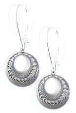 Clara Beau Small Silver Circle Earring