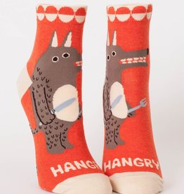 Blue Q Hangry Ankle Socks