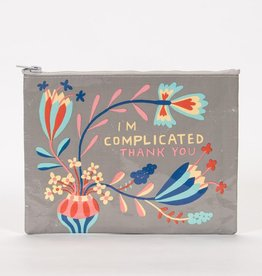Blue Q I'm Complicated Zipper Pouch
