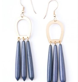 Mata Traders Blue Empress Earrings
