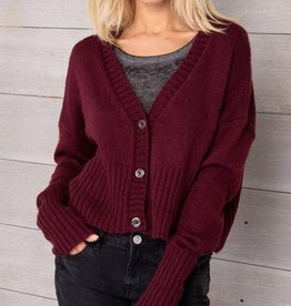 Wooden Ships 3 Button Cardigan