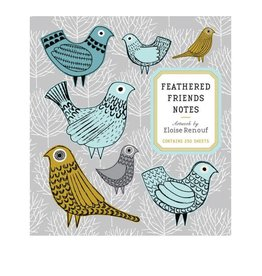 Chronicle Books Feathered Friends Notes