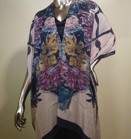 Cocoon House Silk Long Kimono