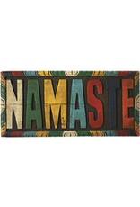 Kathmandu Imports Namaste small wooden wall hanging