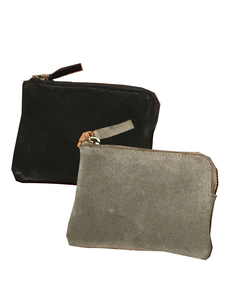 Roost Suave Suede Card Pouch