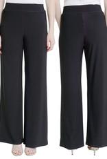 COMPLI K Pull on Wide Leg Knit Pant