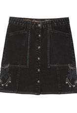 Desigual Martia Button Denim Skirt