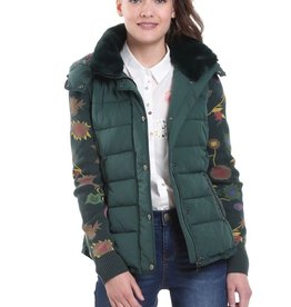 Desigual Pia 2-in-1 Padded Hooded Jacket